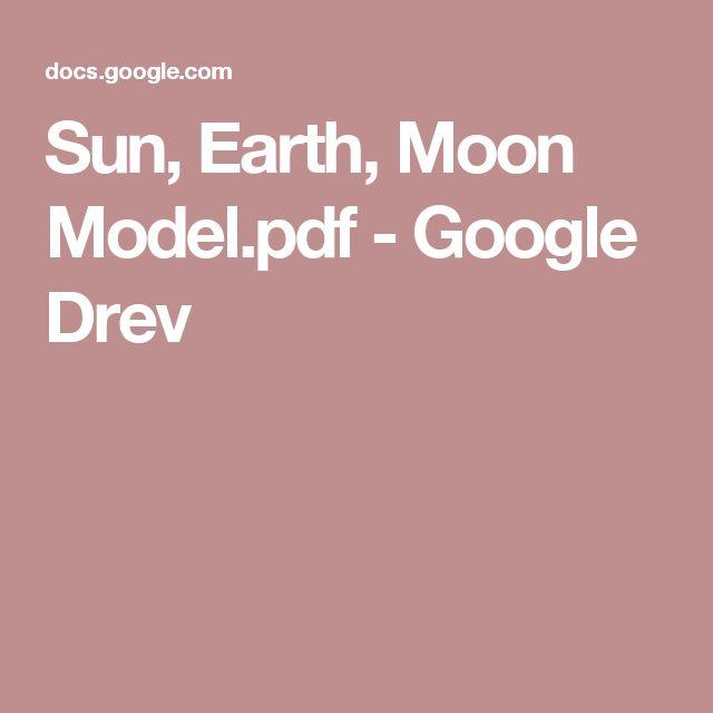 Sun, Earth, Moon Model.pdf - Google Drev