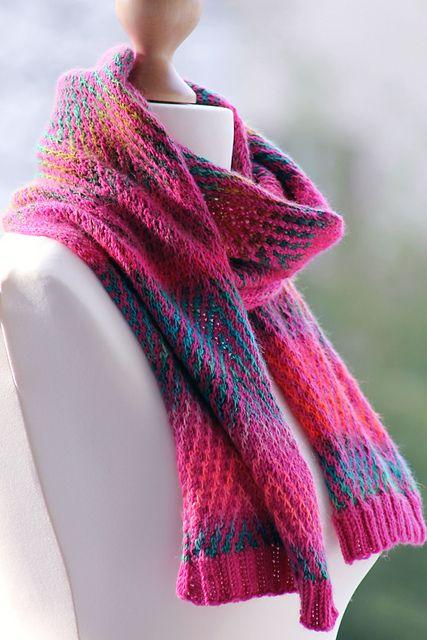 Zigzagtørklæde