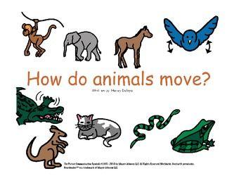 animal movement for kids - photo #8