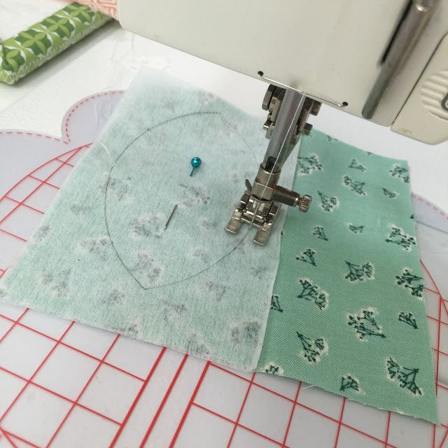 This technique seems easy. Bee In My Bonnet: Sew Simple Shapes - Tutorial using Pellon for Easy Hand or Machine Applique!