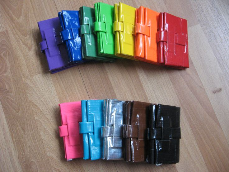 Duct Tape Wallet Designs Ideas | Duct Tape Crafts