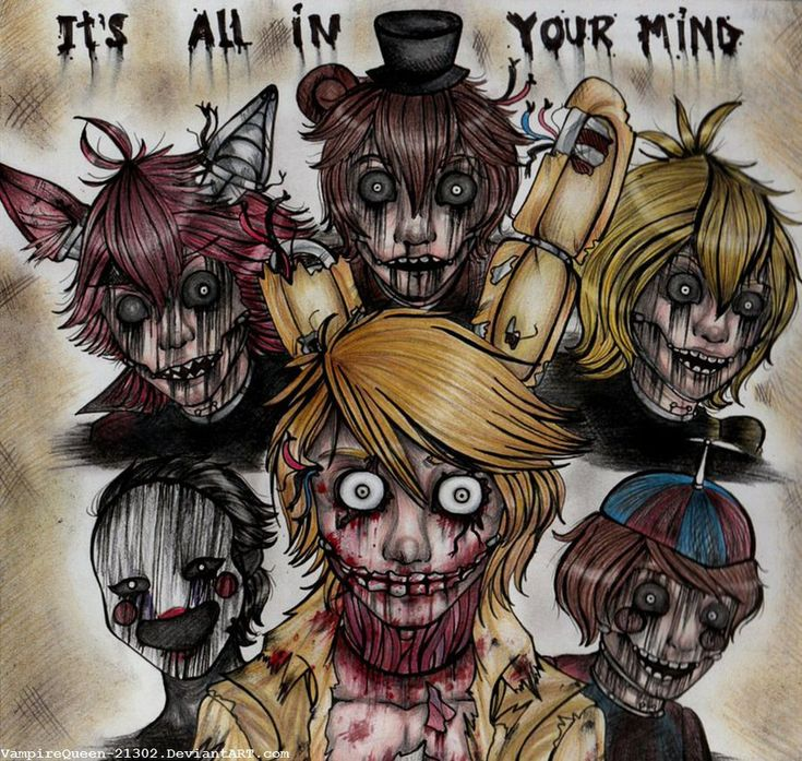.:Five nights at Freddy's 3:. by VampireQueen-21302