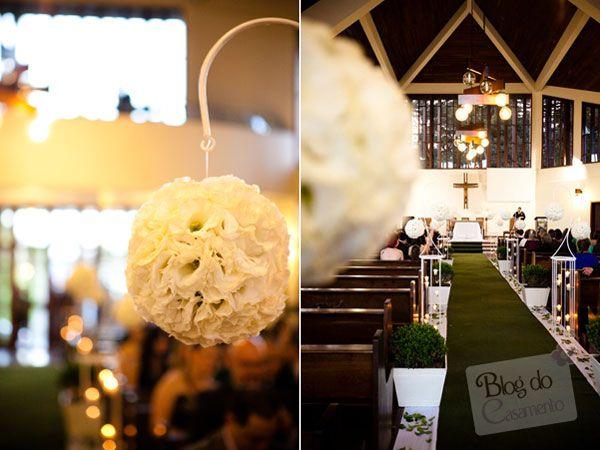 decoração de casamento com buchinhos e velas