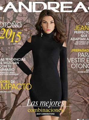 Catalogo Andrea ropa  otoño invierno 2015 : México