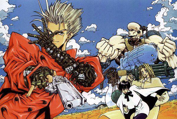 Trigun 2356x1584 1 237 Kb Trigun Anime Anime Images