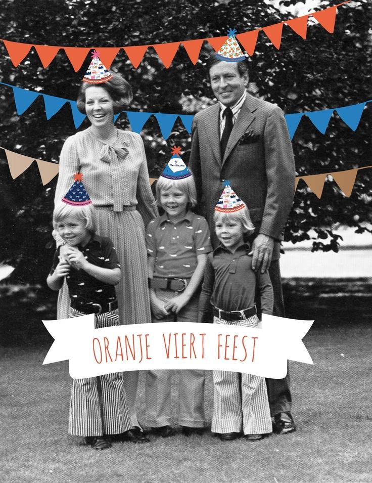 Oranje viert feest #kroning - by Studio Sjoesjoe
