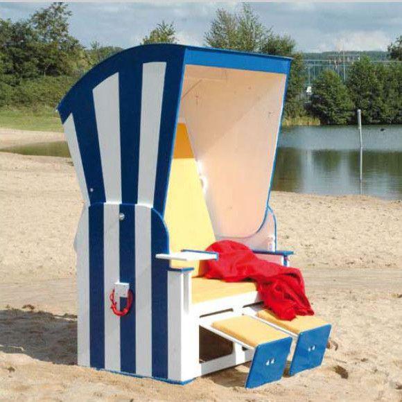 Bringen Sie den Strandkorb in Ihren Garten. Hier finden Sie eine kostenlose Anleitung, wie Sie einen Strandkorb rustikal selber bauen können.