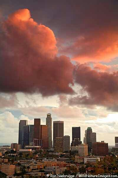 Awesome view of LA...