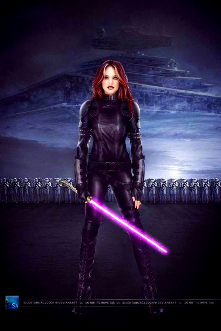 Mara Jade Skywalker my favorite Star Wars character