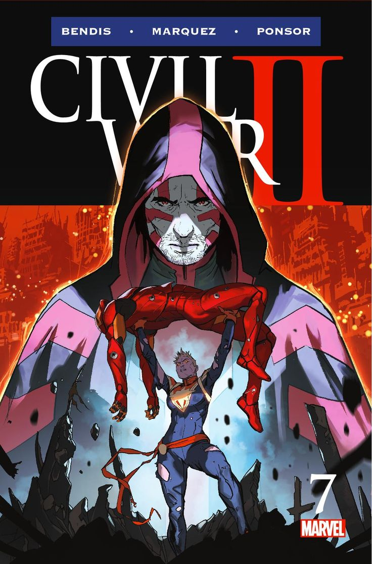 Preview: Civil War II #7, Story: Brian Michael Bendis Art: David Marquez Cover: Marko Djurdjevic Publisher: Marvel Publication Date: November 23rd, 2016 Price: $4.99  &n...,  #All-Comic #All-ComicPreviews #BrianMichaelBendis #CivilWarII #Comics #DavidMarquez #MARKODJURDJEVIC #Marvel #previews