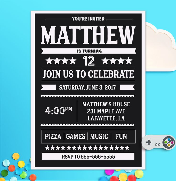 the 25+ best teen birthday invitations ideas on pinterest,