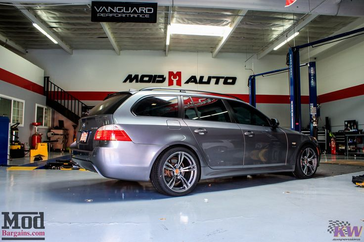 Quick Snap: E61 BMW 535i xDrive Touring on KW Coilovers @ ModAuto