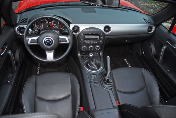 2010 Mazda MX-5 Miata Grand Touring Hardtop Convertible Review & Test Drive