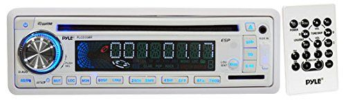 Pyle PLCD35MR AM/FM-MPX IN-Dash Marine CD/MP3 Player/USB & SD Card Function