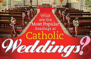 The Most Popular Catholic Wedding Readings