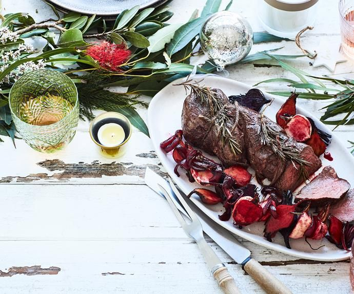 This rosemary roast beef fillet recipe is so easy to make ...