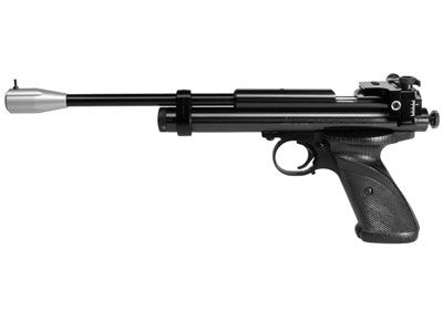 Crosman 2300s.  A nice target pistol.  I will own this eventually.