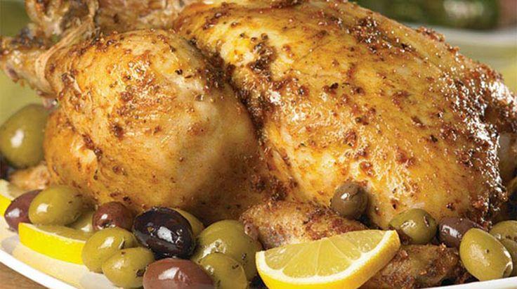 Mediterranean-style Roast Chicken