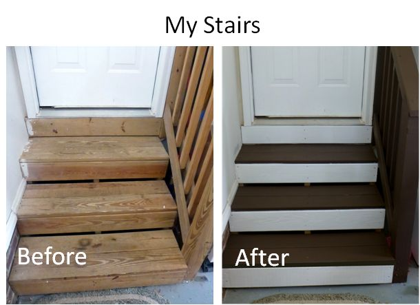I want to do this to my basement stairs!