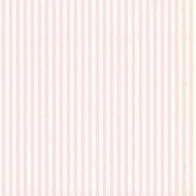 Papier peint à rayures roses et blanches Tartine et Chocolat