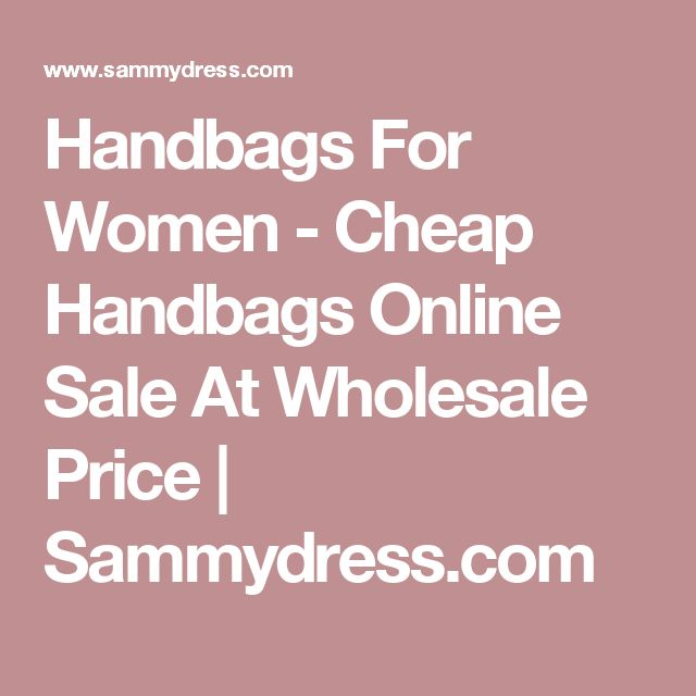 Handbags For Women - Cheap Handbags Online Sale At Wholesale Price | Sammydress.com