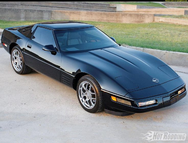 1985 Chevrolet Corvette C4- My husband's present toy in the garage.