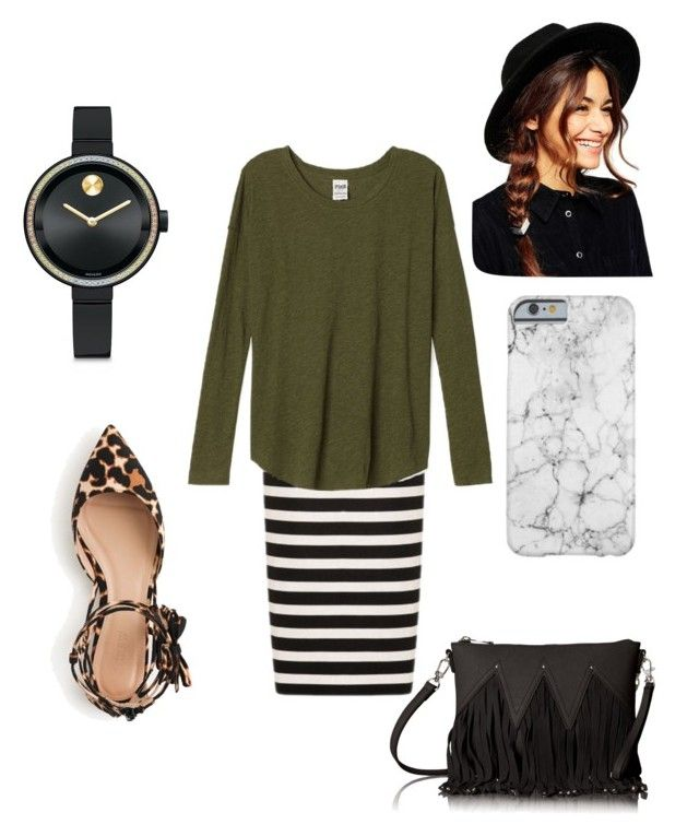 """Gabby Casual"" by maddyjoleen on Polyvore featuring Noon by Noor, J.Crew, ASOS, Movado and Urban Originals"