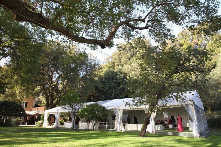 Allestimenti sotto il gazebo #matrimonio