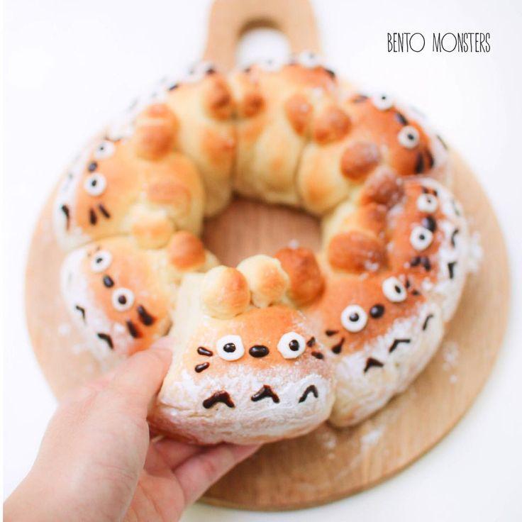 Totoro bread (^O^)