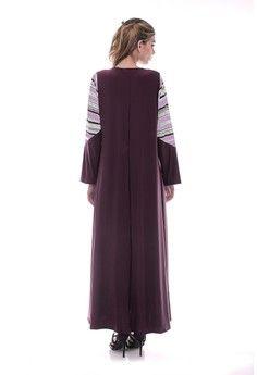 Wanita > Baju Muslim > Dress Muslim > Gamis > Eloise Stripe Film EB > Le Najwa