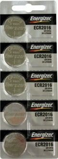 Energizer ECR2016BP (CR2016) 3 Volt Coin Cell, On Tear Strip 3V #Volt #3V Lithium Coin Size Cell, Bulk in Trays On Tear Strip #Wholesale #Maxell #Sony #Panasonic # Sanyo #Energizer #Duracell #Batteries #Online $1.50 - $0.35 at #www www.BatteriesAndButter.com