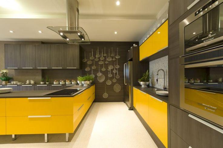 Balancei Com Essa Cozinha Amarela Hein Cozinha