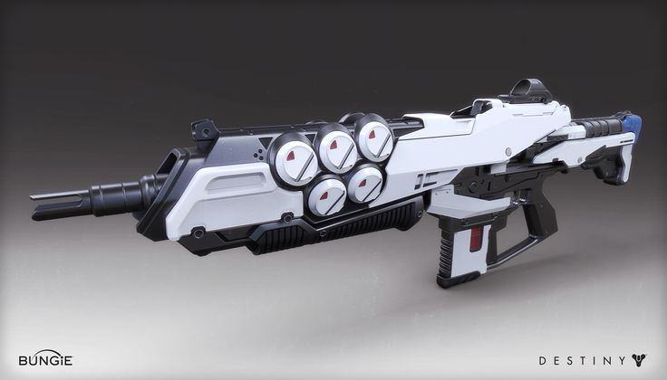 ArtStation - Destiny - The Taken King - Auto Rifle, Mark Van Haitsma