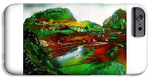 Forgotten IPhone 6 Case Printed with Fine Art spray painting image Forgotten by Nandor Molnar (When you visit the Shop, change the orientation, background color and image size as you wish)
