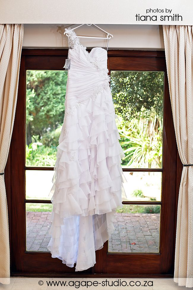 Stunning Ilse roux dress made for the bride