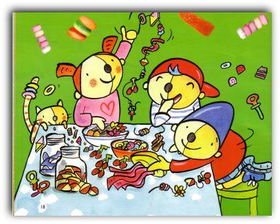 Plaatje Pompom picknick