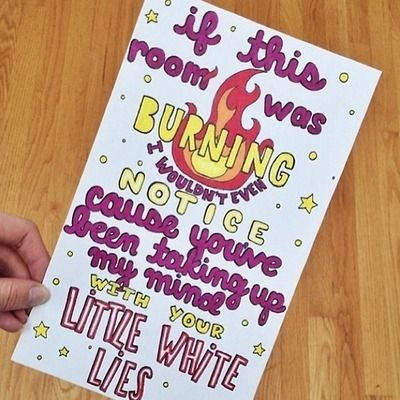 Lyric drawing