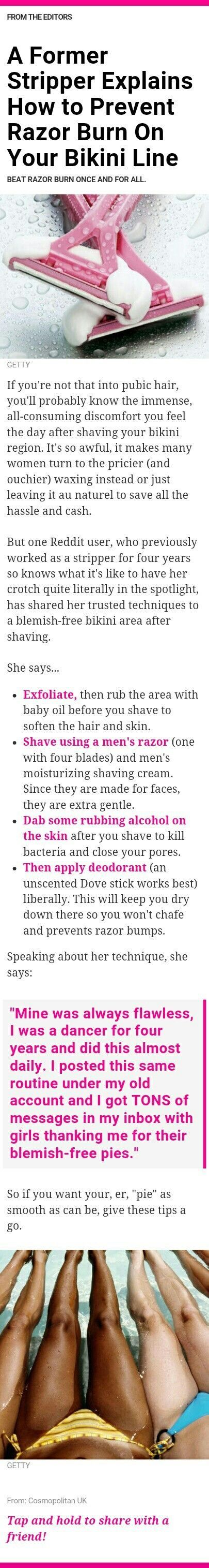 I've tried there of the 4 techniques and never thought about the deodorant.  Interesting...