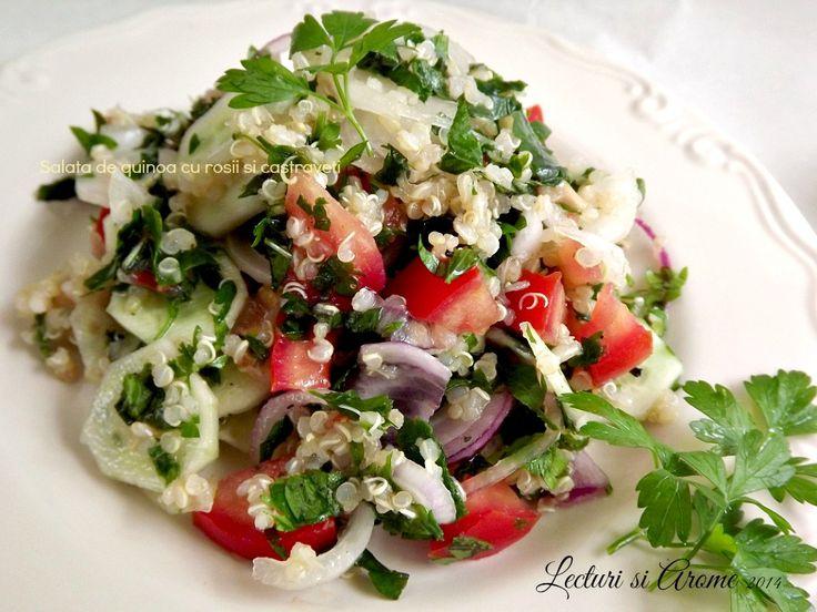 salata de quinoa cu rosii