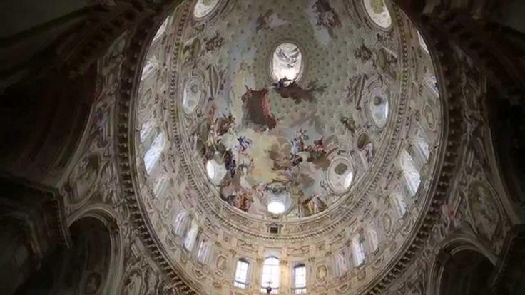 Santuario di Vicoforte - la cupola ellittica più grande del mondo /  largest elliptical dome in the world