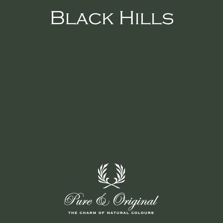 Black Hills - Pure & Original - paint