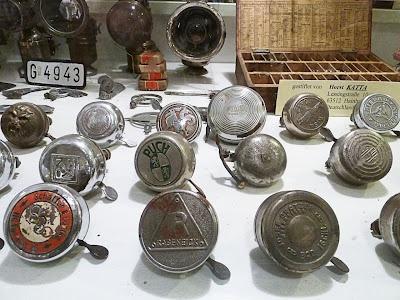 Vintage bicycle bells