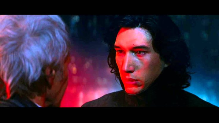 Star Wars Episode VII: The Force Awakens - (Han Solo's Death) - YouTube