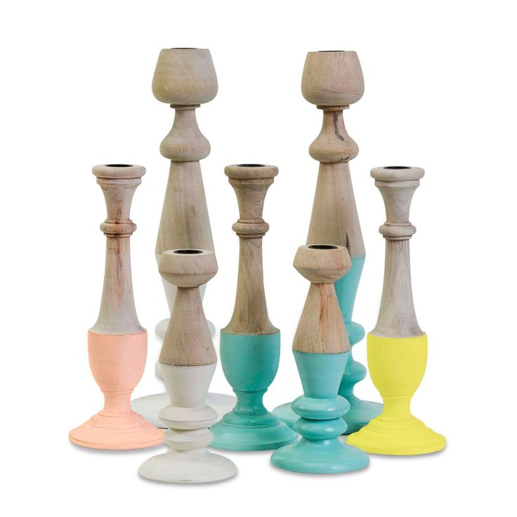 Scandi Pastel Candlesticks from Me & My Trend