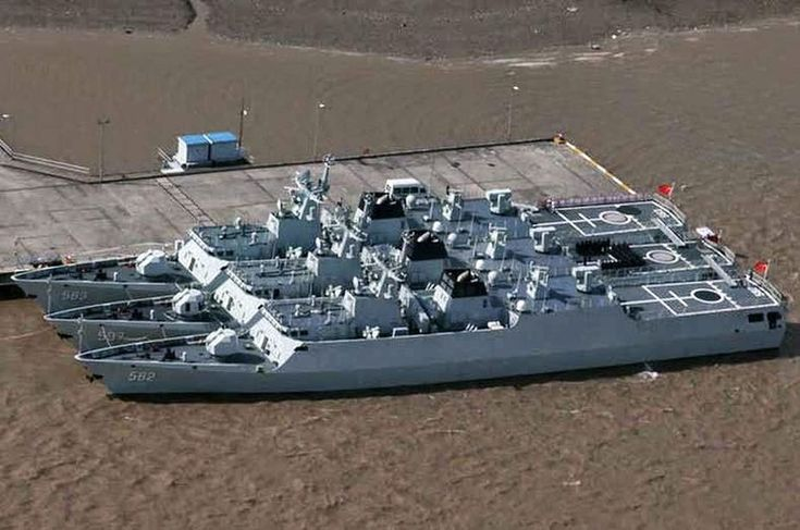 Китайские корветы Тип-056 militar.org.ua - Китай «штампует» корветы | Военно-исторический портал Warspot.ru