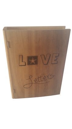 US Army Love Letters Book Like Keepsake Box - Army Love - Handwritten letters seem to be the thing of the past but if you are one of the lucky ones that still receives letters from your soldier this is a nice box to store them in.    Personalize it with a note on the inside cover to remind you why you love being an Army soldier's  wife/girlfriend/husband/boyfriend.  #armylove