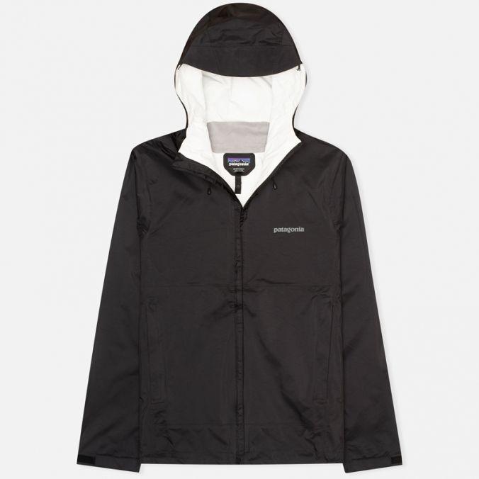 Мужская куртка ветровка Patagonia Torrentshell Black фото-0