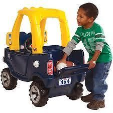 LITTLE TIKES - COZY TRUCK - Your little builder will now love travelling around