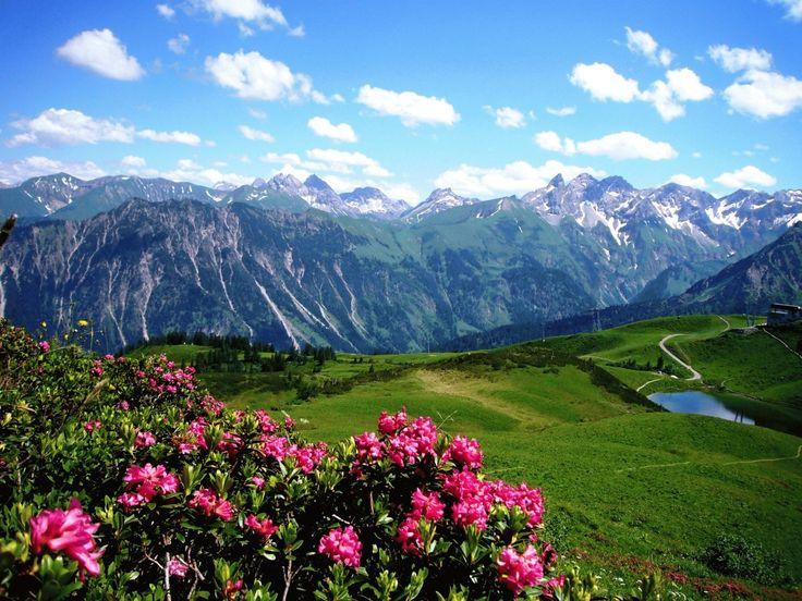 Wanderurlaub in Oberstdorf in den Allgäuer Alpen