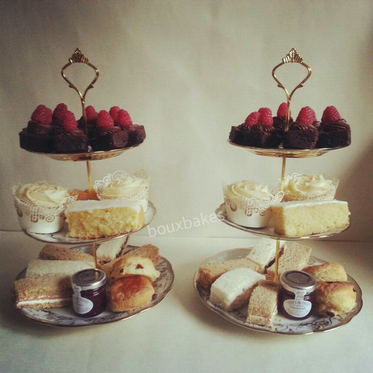 Boux Bakes Afternoon Tea! ♥